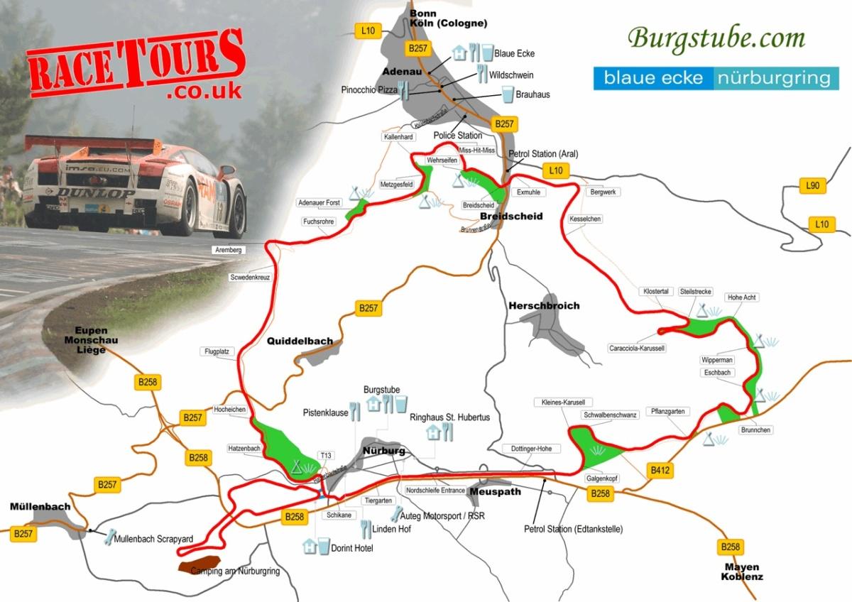 2013 Nurburgring (map 2)
