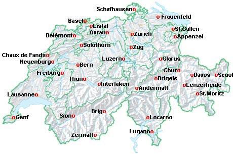 2013 Le Mans (Switzerland map)