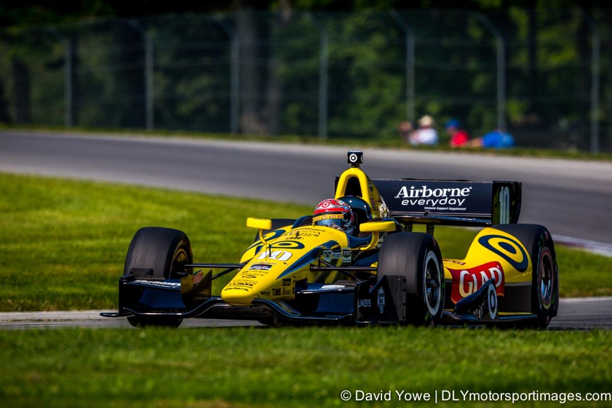 2014 Mid-Ohio (#10 Target Chip Ganassi Racing)