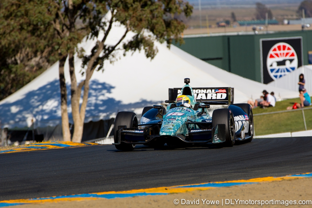 2014 Sonoma (#15 Rahal Letterman Lanigan Racing)