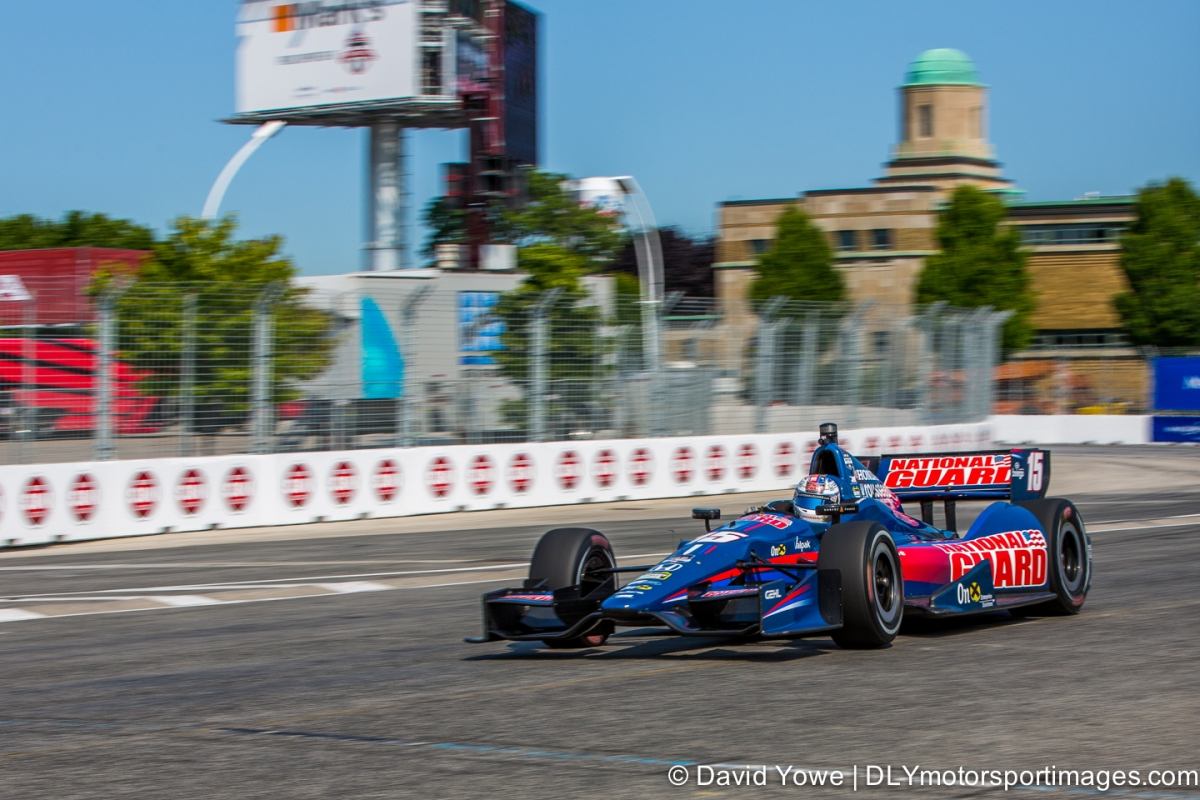 2014 Toronto (#15 Rahal Letterman Lanigan Racing)