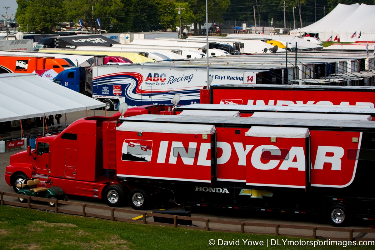 2014 Mid-Ohio (Indy Car Paddock)