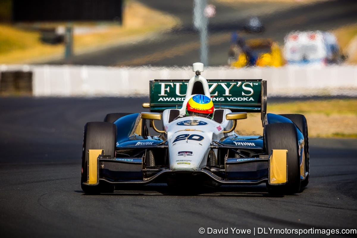 2014 Sonoma (#20 Ed Carpenter Racing)