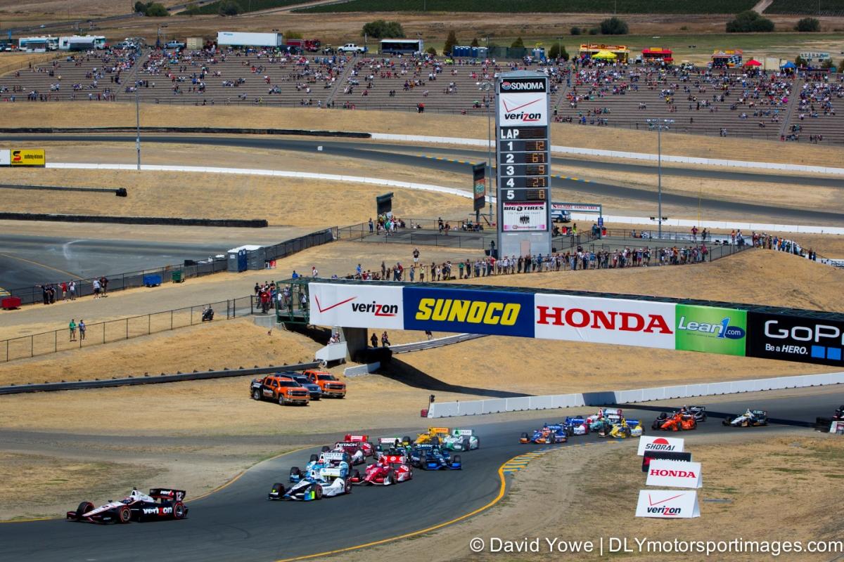2014 Sonoma (Race start)