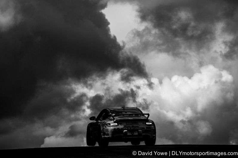 Into the stormy clouds (Lime Rock Park, Connecticut, USA)