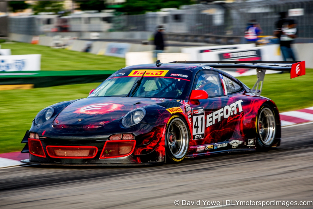 2014 Detroit (#41 EFFORT Racing Porsche GT3R)