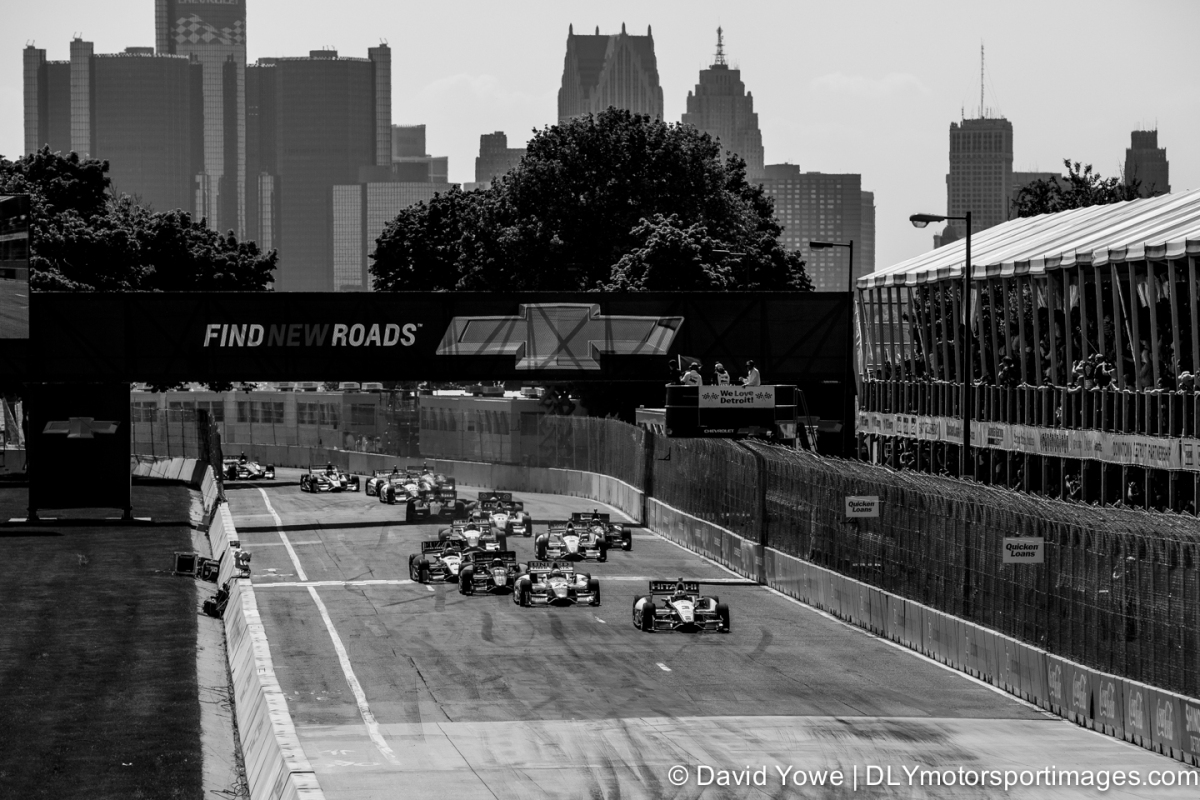 2014 Detroit (Detroit IndyCar Saturday Race Start)