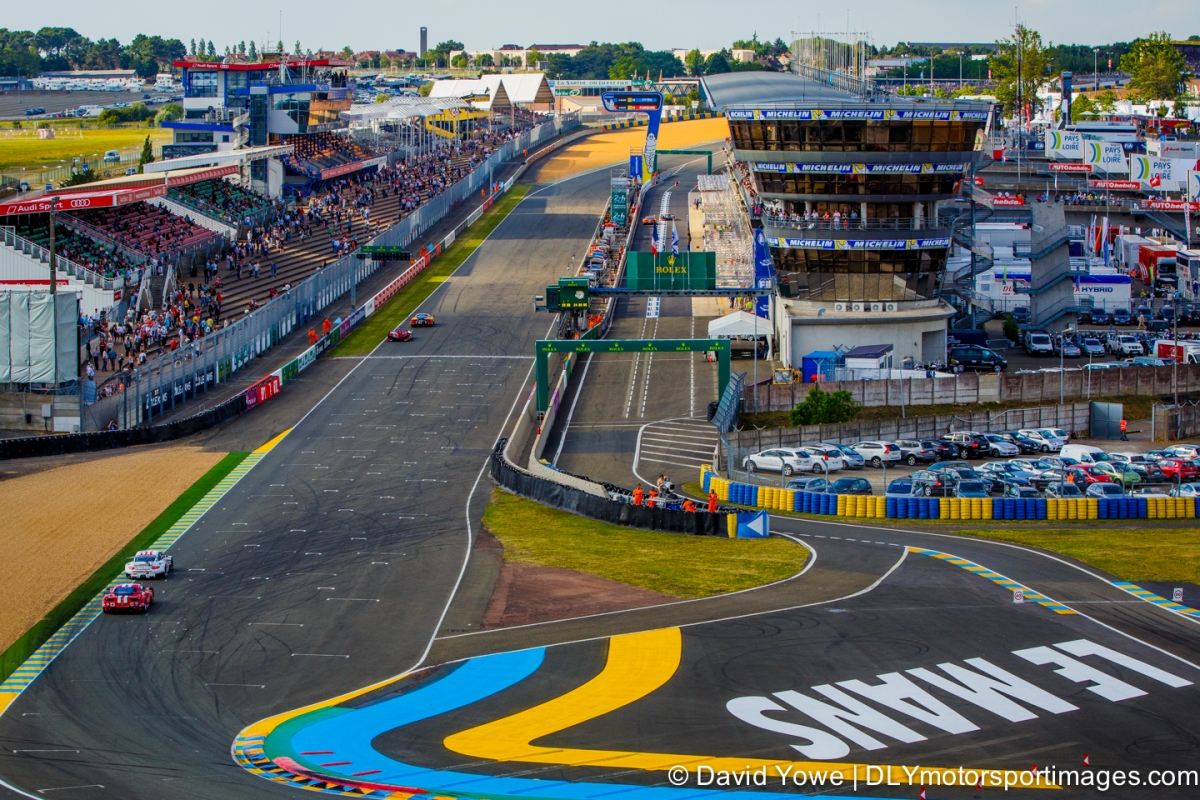 2014 Le Mans (Front straight)