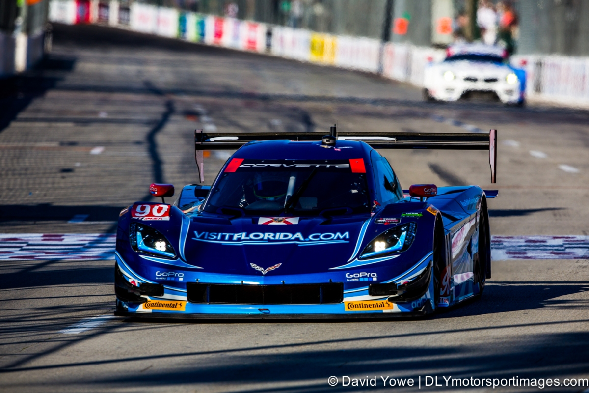 2014 Long Beach (#90 Spirit of Daytona Corvette DP)