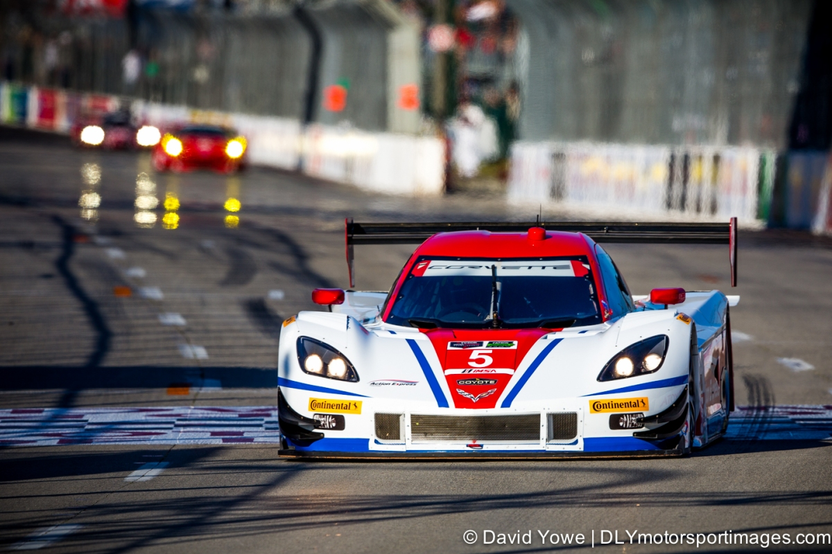 2014 Long Beach (#5 Action Express Racing Corvette DP)