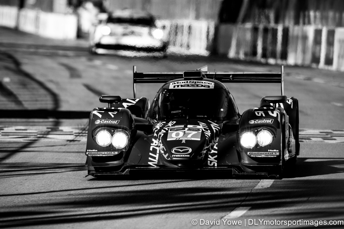 2014 Long Beach (#07 SpeedSource Mazda Prototype)