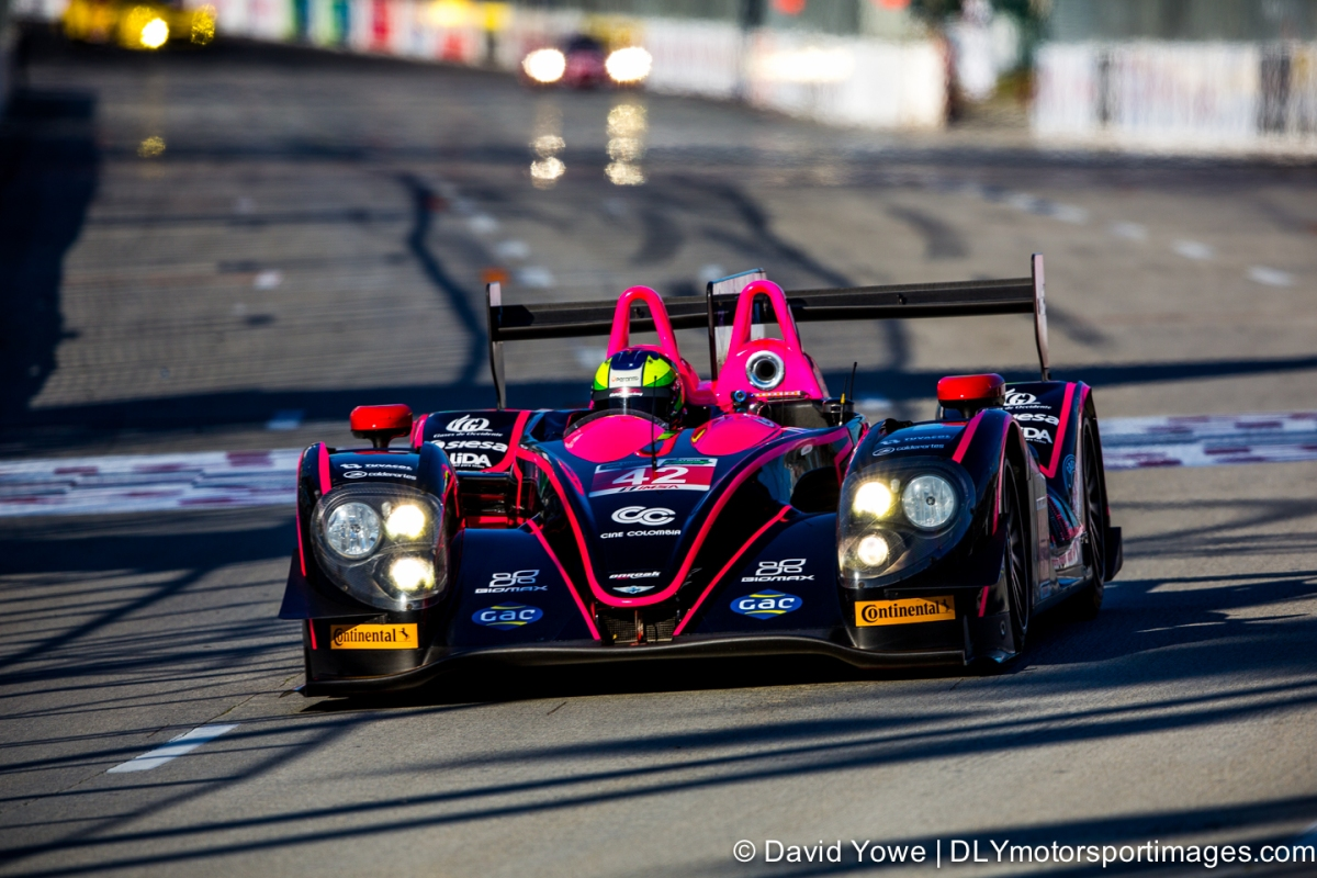 2014 Long Beach (#42 OAK Racing Nissan Morgan)