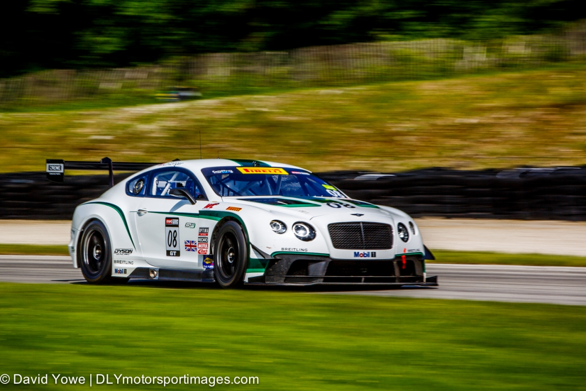 2014 Road America (#08 Dyson Racing Team Bentley Bentley V8 T)