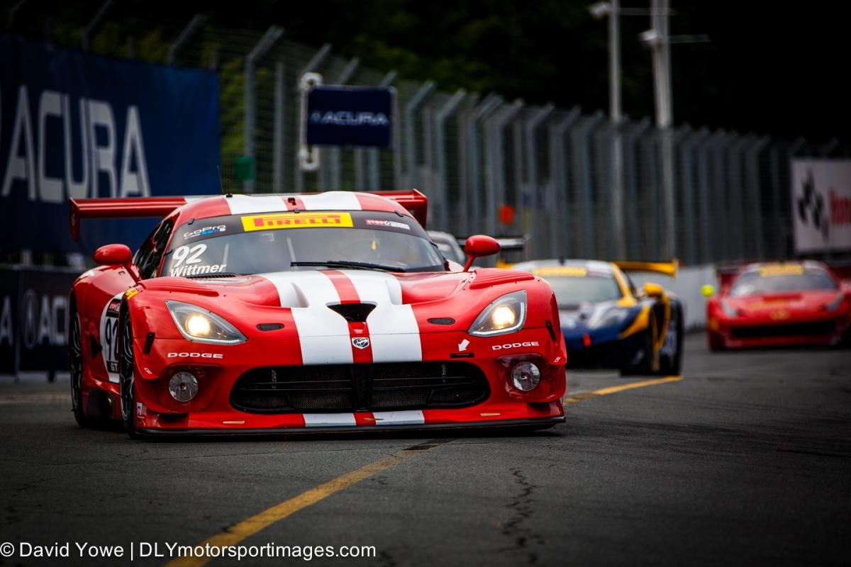 2014 Toronto (#92 Dodge Motorsports Dodge Viper SRT GT3-R)