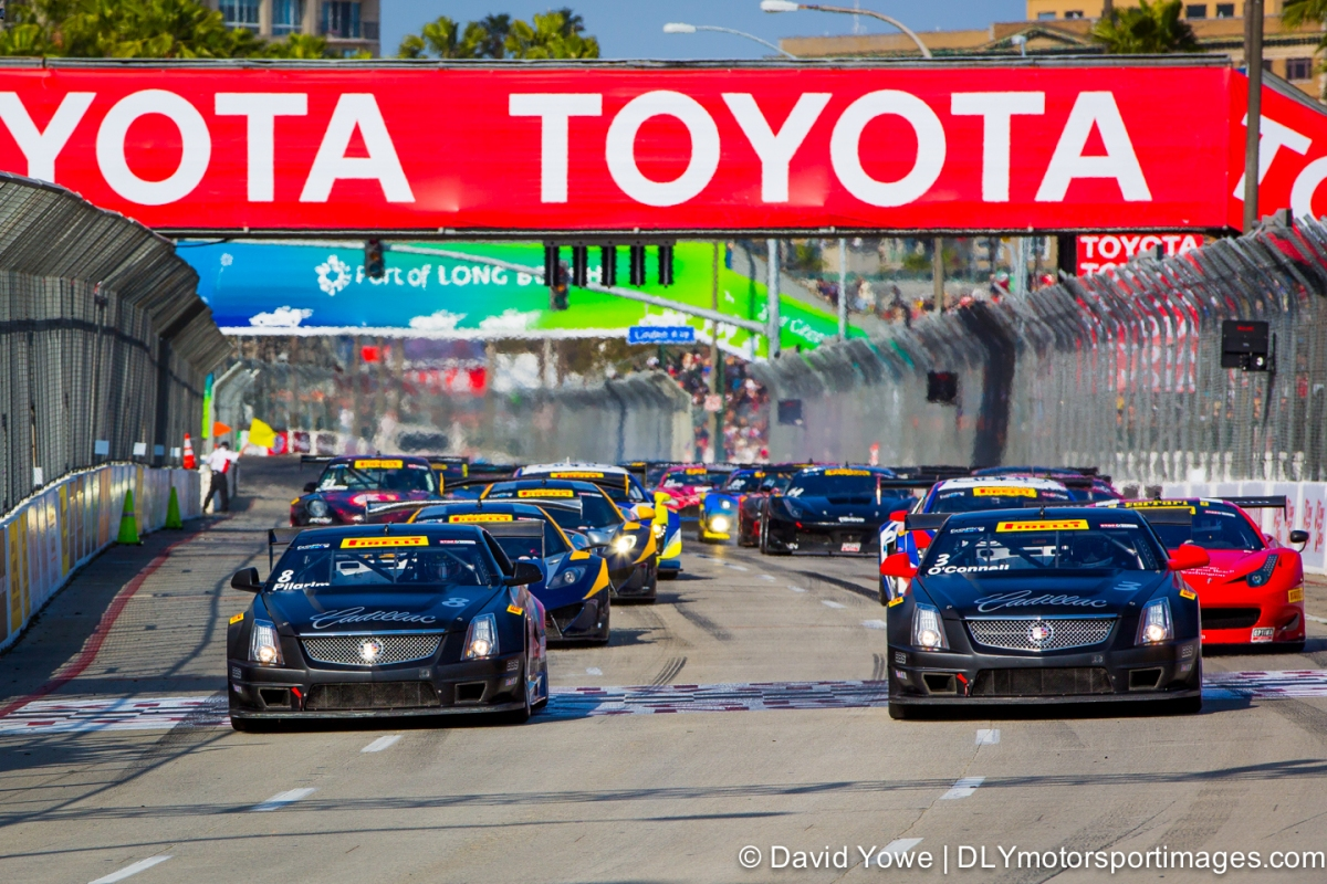2014 Long Beach (Race start)