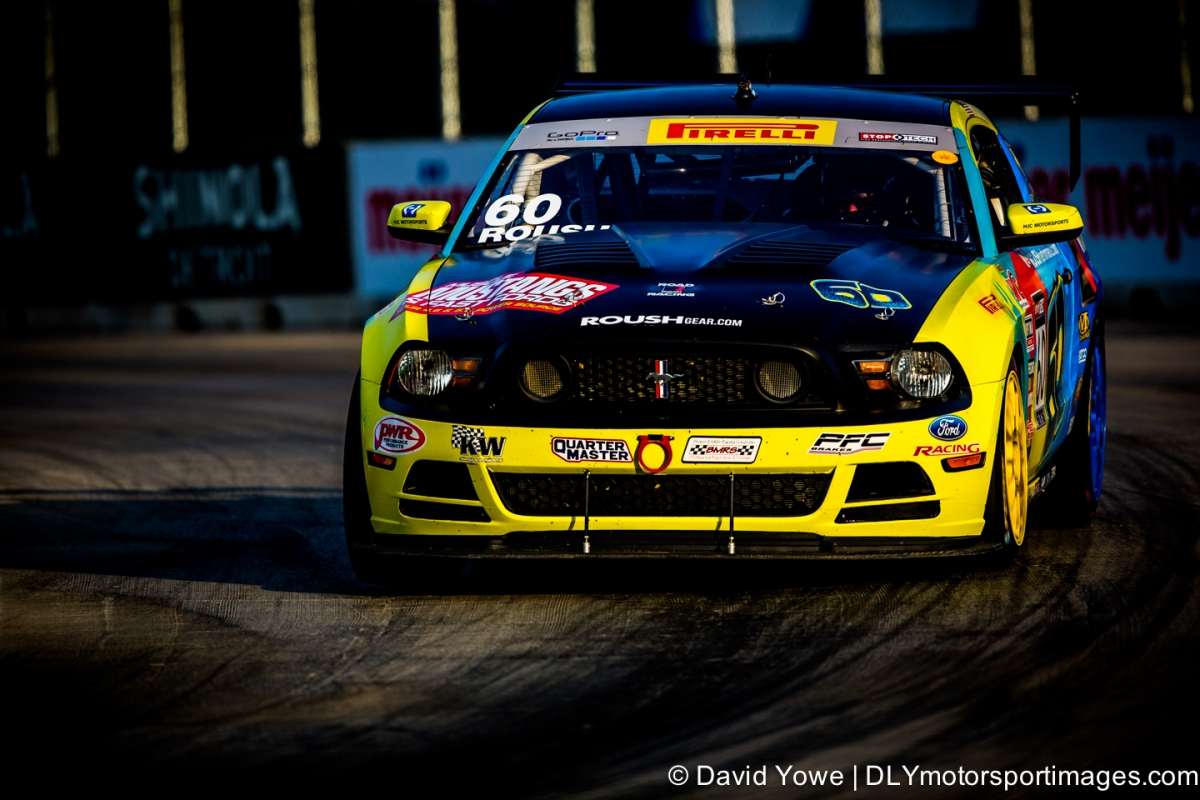 2014 Detroit (#60 Roush Road Racing Ford Mustang Boss 302R)