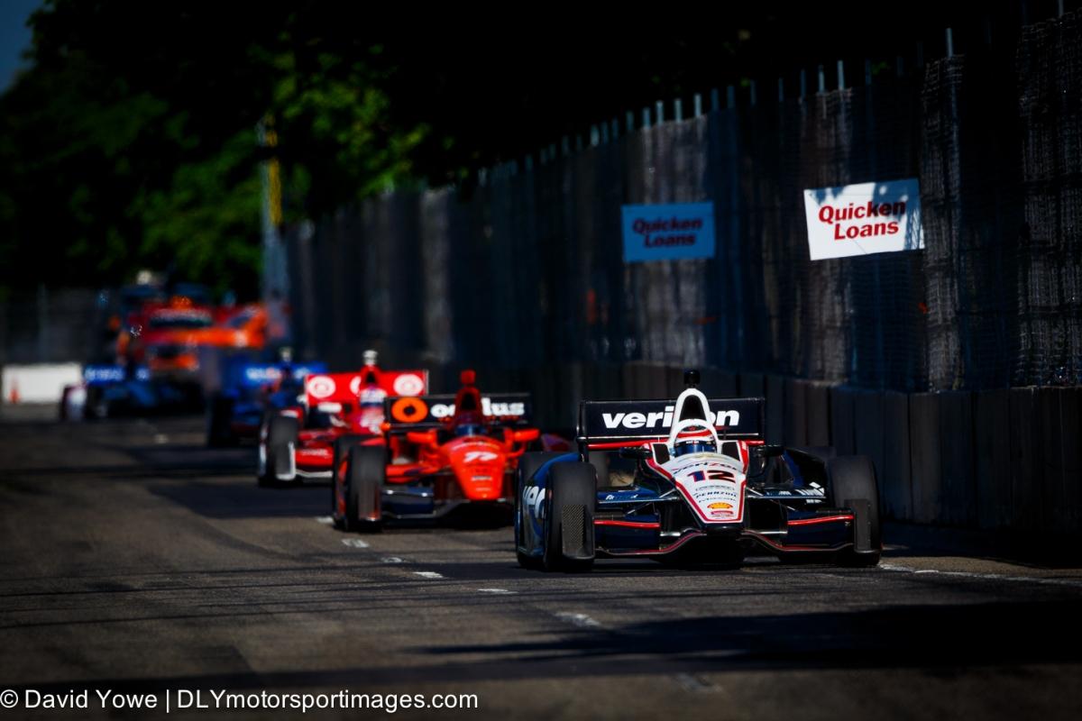 2014 Detroit (#12 Team Penske)