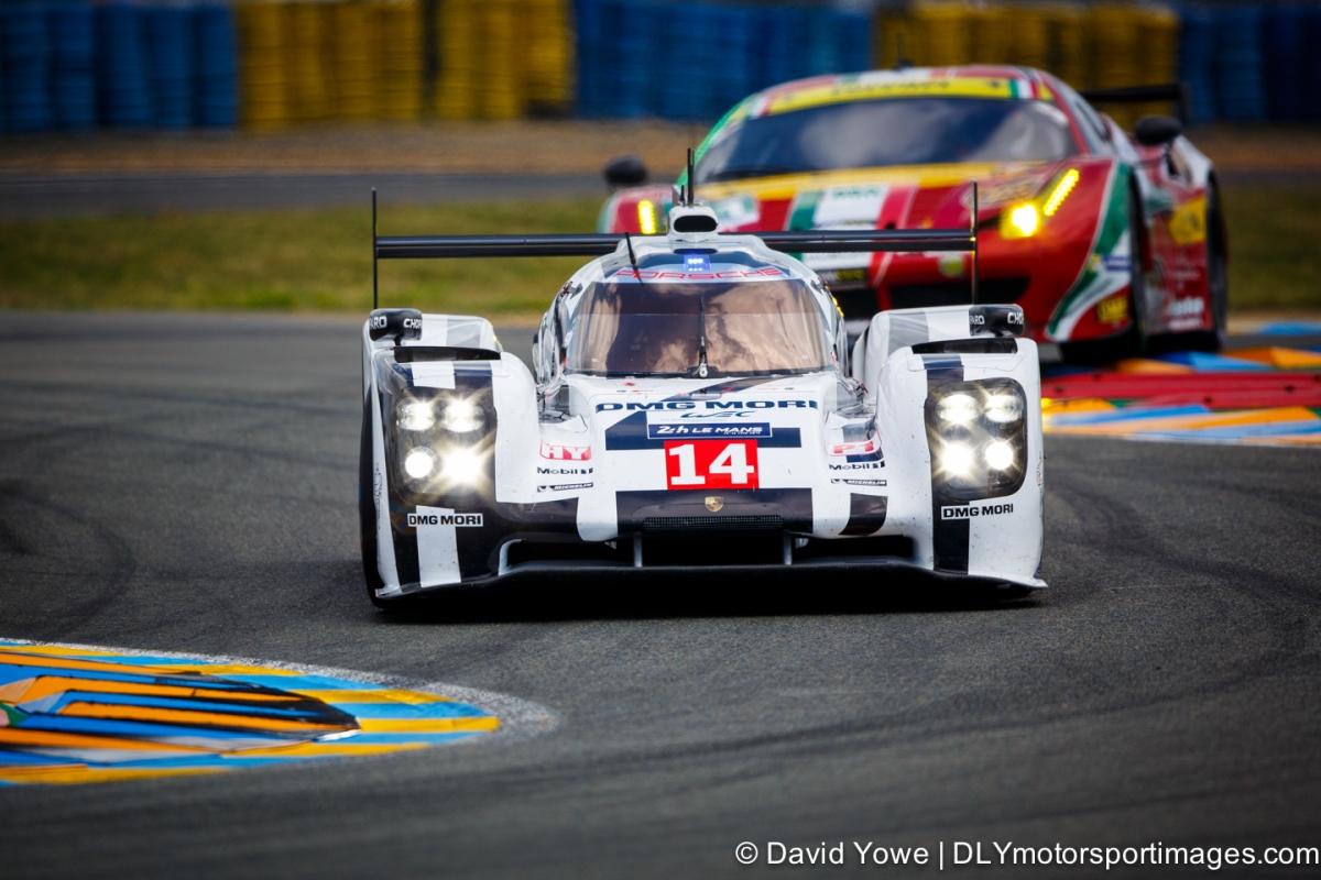 2014 Le Mans (#14 Porsche)