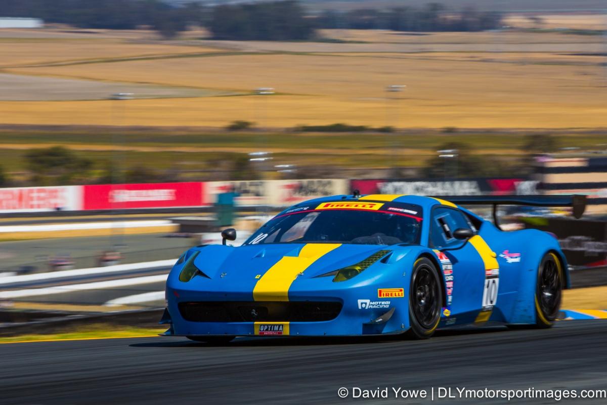 2014 Sonoma (#10 DragonSpeed Ferrari 458 GT3 Italia)
