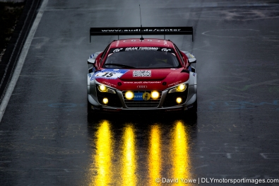 Audi R8 with beams of light (Nurburgring, Germany)