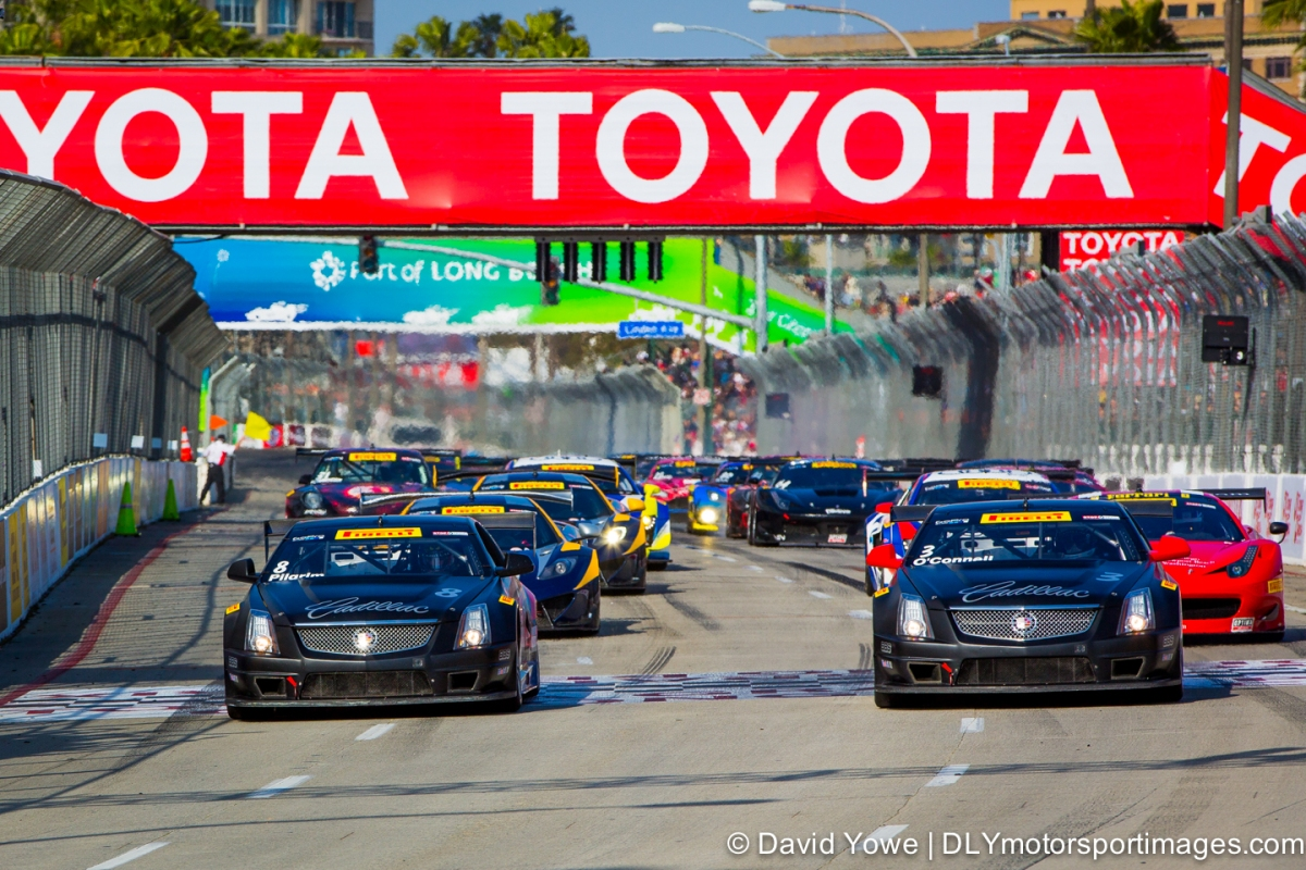 Long Beach race start