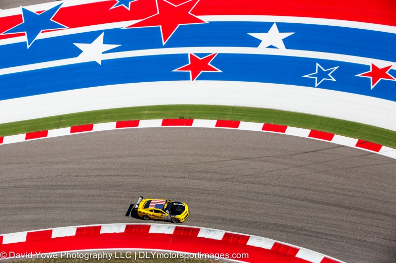Red, white, and blue (COTA, Austin, Texas, USA)