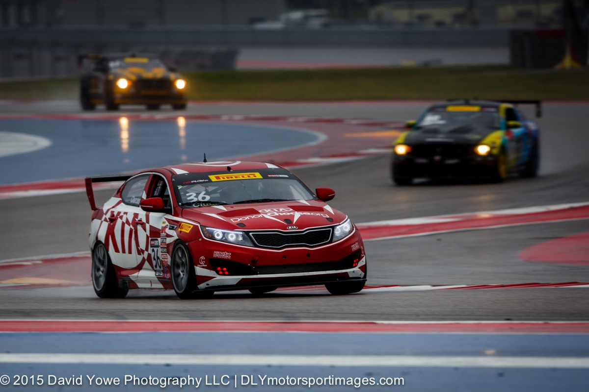 2015 COTA (#36 Kinetic Motorsports / Kia Racing)