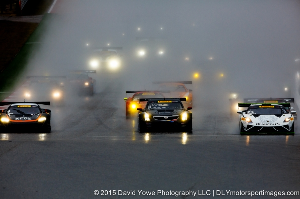 Headlights through the rain (COTA, Austin, Texas, USA)
