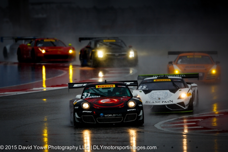 GT train in the rain (COTA, Austin, Texas, USA)
