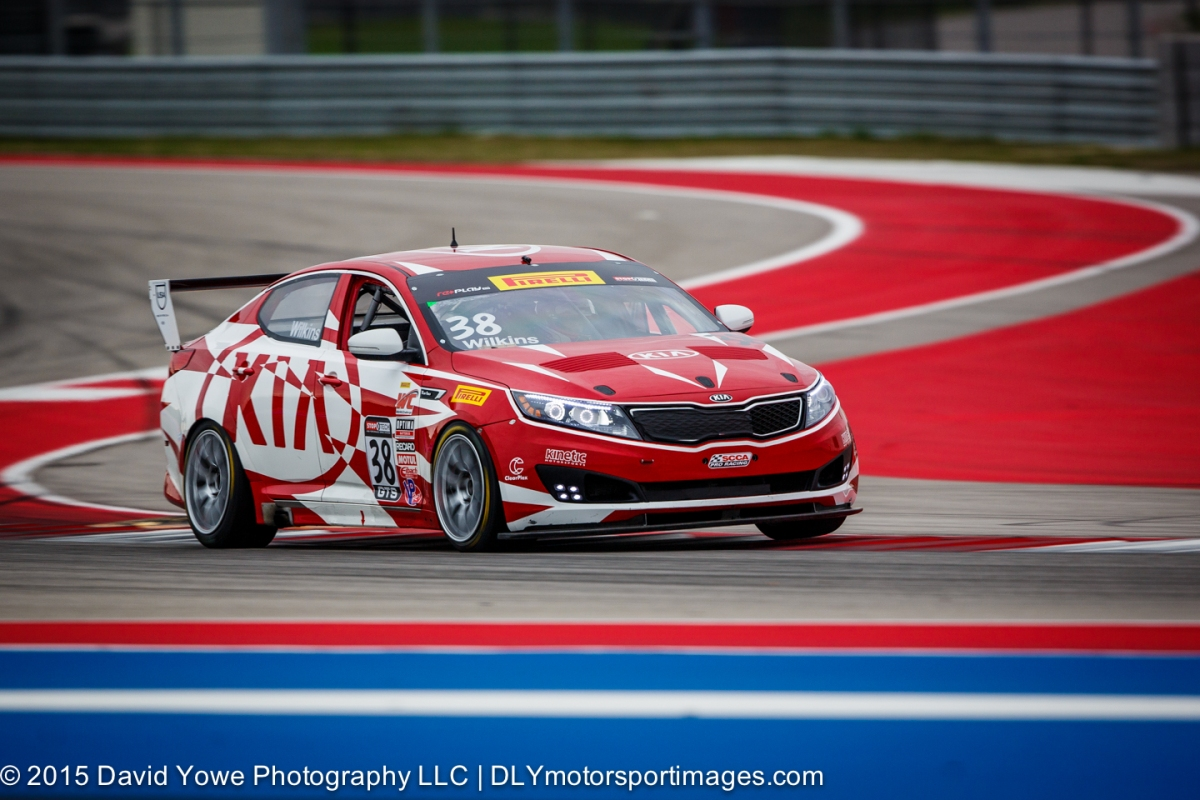 2015 COTA (#38 Kinetic Motorsports/Kia Racing Kia)