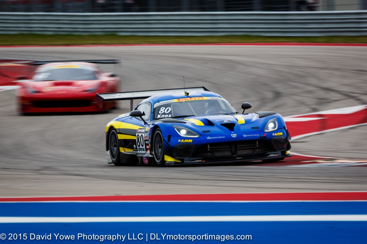 2015 COTA (#80 Lone Star Racing)