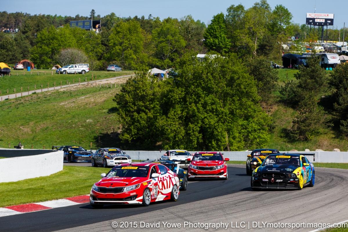 2015 Mosport (Race start)