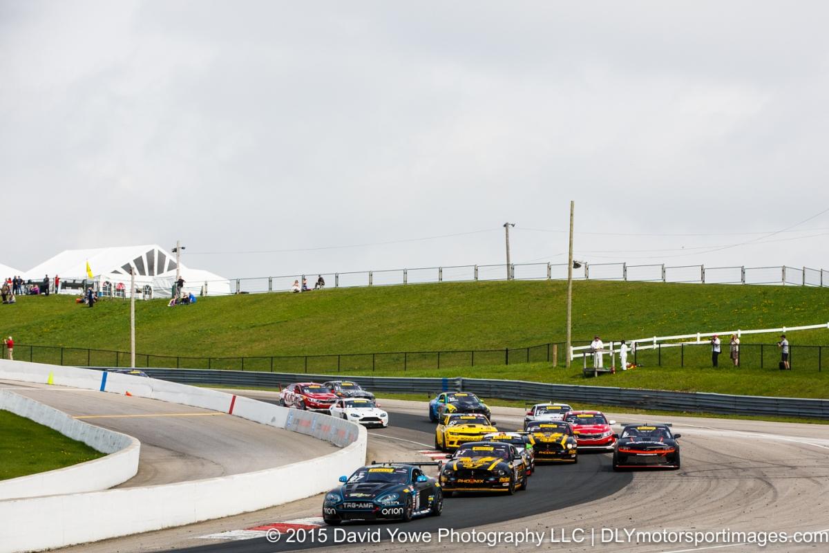 2015 Mosport (GTS Race start)