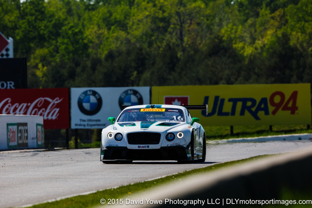 2015 Mosport (#16 Bentley)