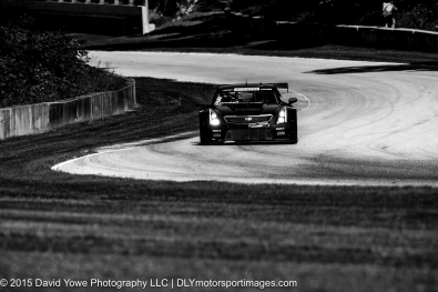 Through the Esses with Johnny O'Connell in the #3 Cadillac Racing Cadillac ATS-VR GT3