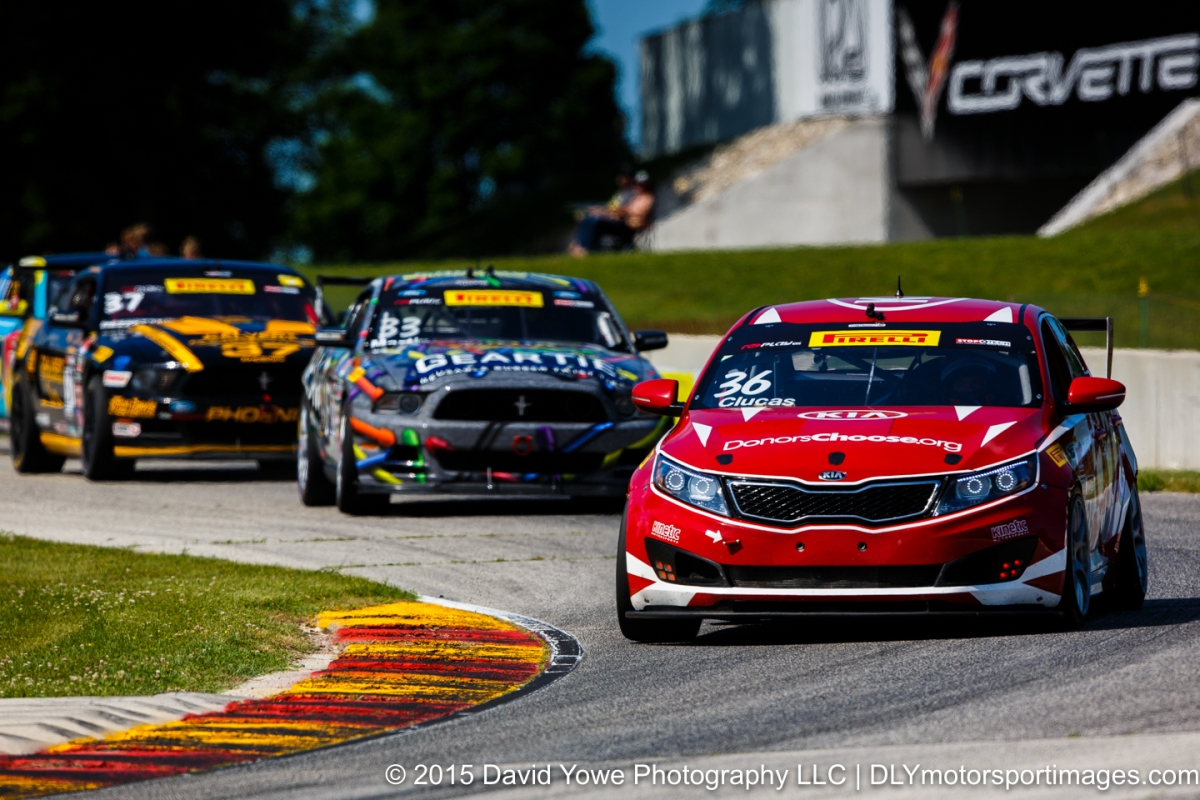 2015 Road America (#36 Kinetic Motorsports / Kia Racing Kia Optima)