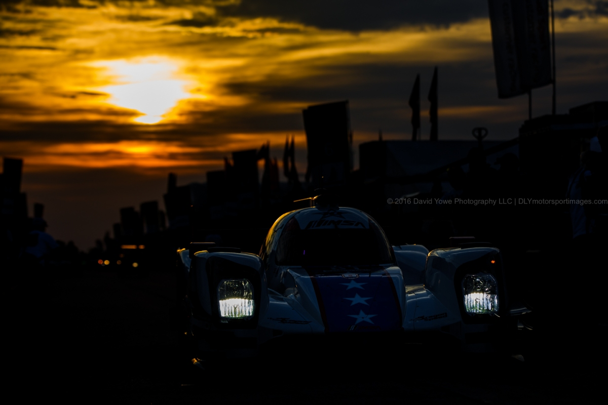 Sunburst over Sebring